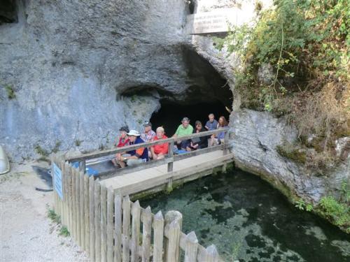 Ausfahrt aus der Höhle